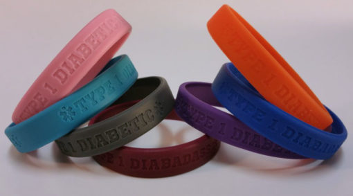 diabetic_diabadass_medical_id_bracelet_silicone_rubber_wristband