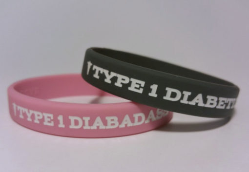 type_1_diabetic_diabadass_medical_id_bracelet_rubber_wristband